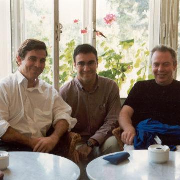 Alberto Campo Baeza with David Chipperfield and Jesus Donaire, 1997