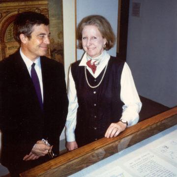 Alberto Campo Baeza with Julia Moore Converse , Philadelphia, 1999