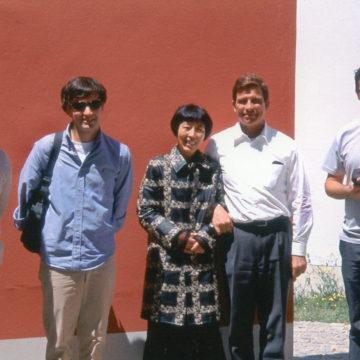 Alberto Campo Baeza with Kazuyo Sejima and Paulo H. Durao, Lisboa, 2002