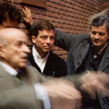 Alberto Campo Baeza with Miguel Fisac, Jesús Aparicio and Alberto Morell, Madrid, 2002