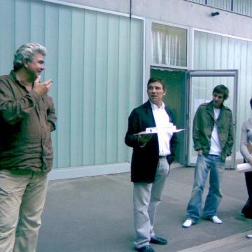 Alberto Campo Baeza with Nicolas Cregut, Montpellier, 2007