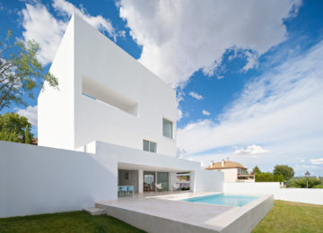 Exterior picture. Raumplan House