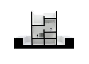 Model. Raumplan House