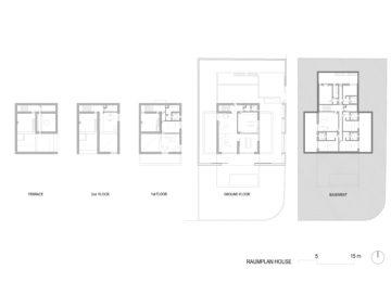 Floor plans. Raumplan House