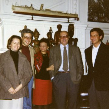 Alberto Campo Baeza with Clorindo Testa, 1994
