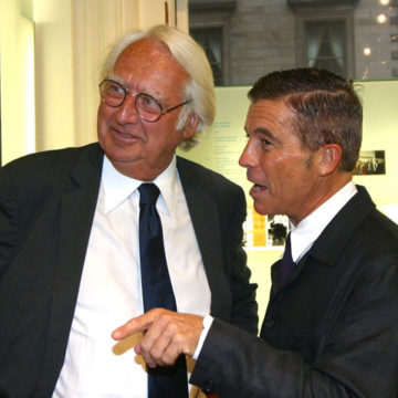 Alberto Campo Baeza with Richard Meier - New York 2003