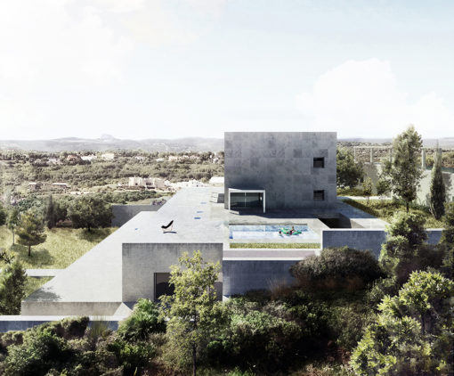 Exterior render. Villas in Sotogrande