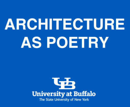 Architecture as Poetry. Clarkson Chair Buffalo