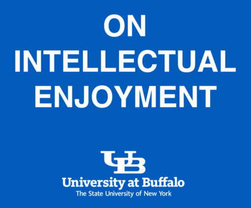 On intellectual enjoyment. Clarkson Chair Buffalo