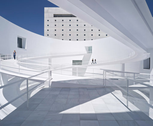 MA Museum, ramp and light
