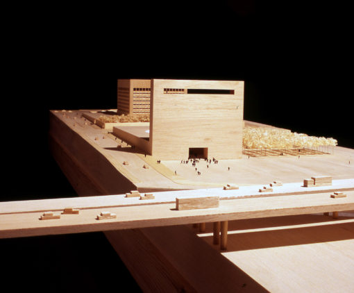 Model Andalucia`s Museum of Memory