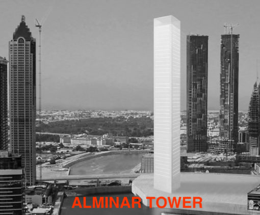 Video Alminar Tower Dubai 2013