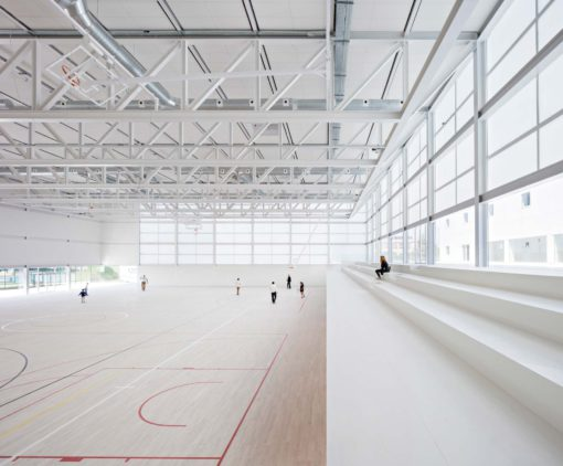 Photography, Multi-sport pavilion - Francisco de Vitoria University
