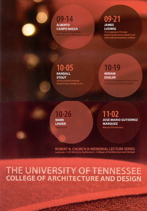 Lecture at University of Tennessee