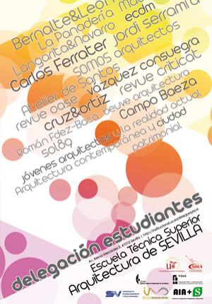 Diez años construyendo escuela, lecture ETSA Seville