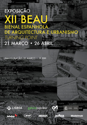 "Poster ""Spanish Biennale of Urbanism and Architecture"""