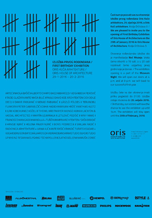 Poster Oris House of Architecture