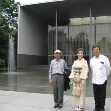Alberto Campo Baeza with Toshio y Fujiko Nakamura-Tokyo 2009