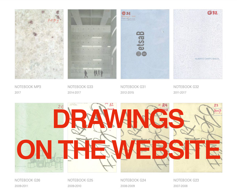New drawing section on the website