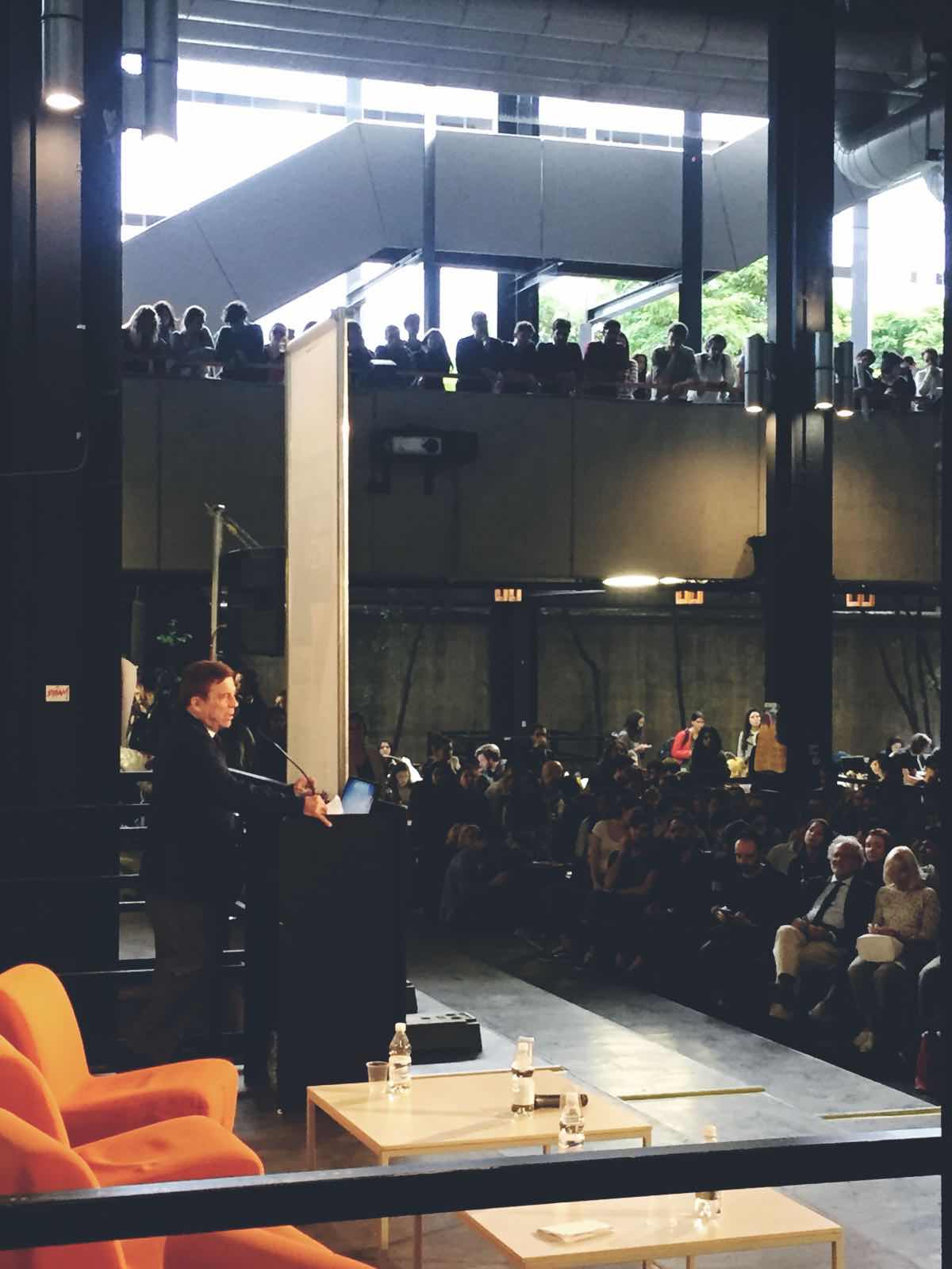 Lecture in Milano