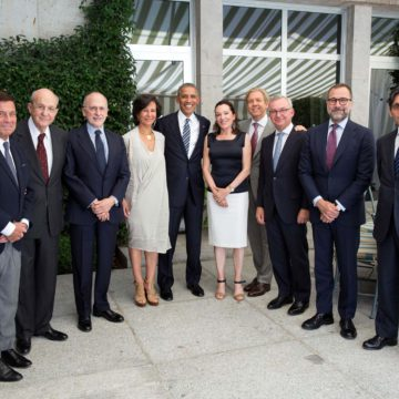 2016 07 10 Con Barack Obama en Madrid