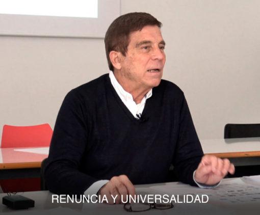 Vídeo Renuncia y universalidad MPAA10