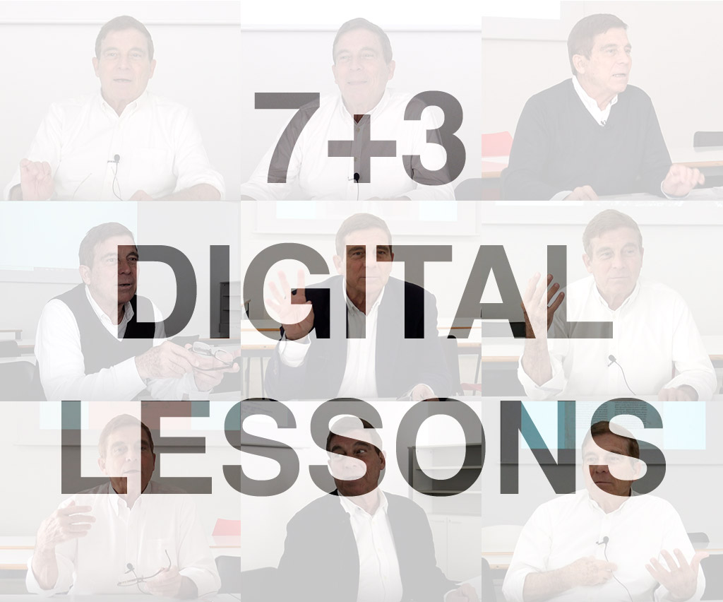 Cartel 7+3 digital lessons