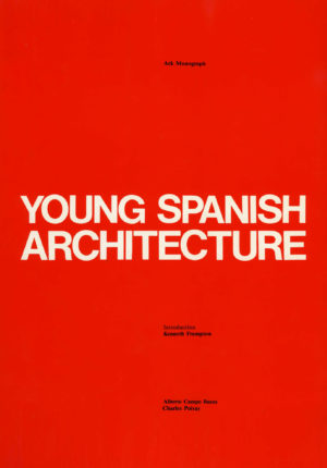 Young Spanish Architecture Cover